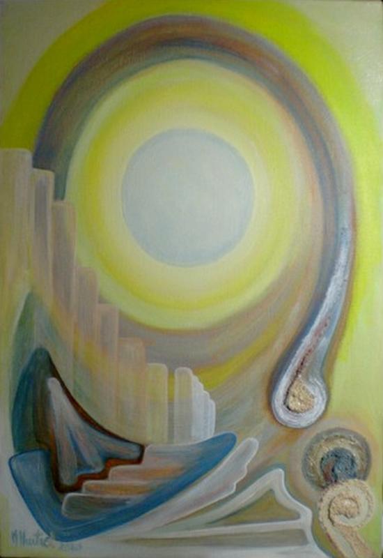 Avenir, peinture de Marie Hurtrel