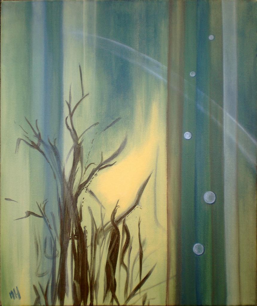 Lumière, peinture © Marie Hurtrel