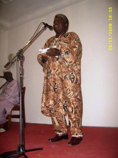 Discours au Prix Senghor 2008
